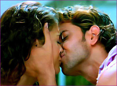 Aishwarya Rai Hrithik Roshan Hot Kissing Photo