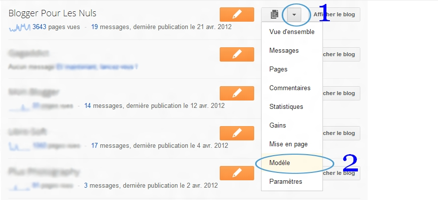 enregistrer les templates blogger   nouvelle interface