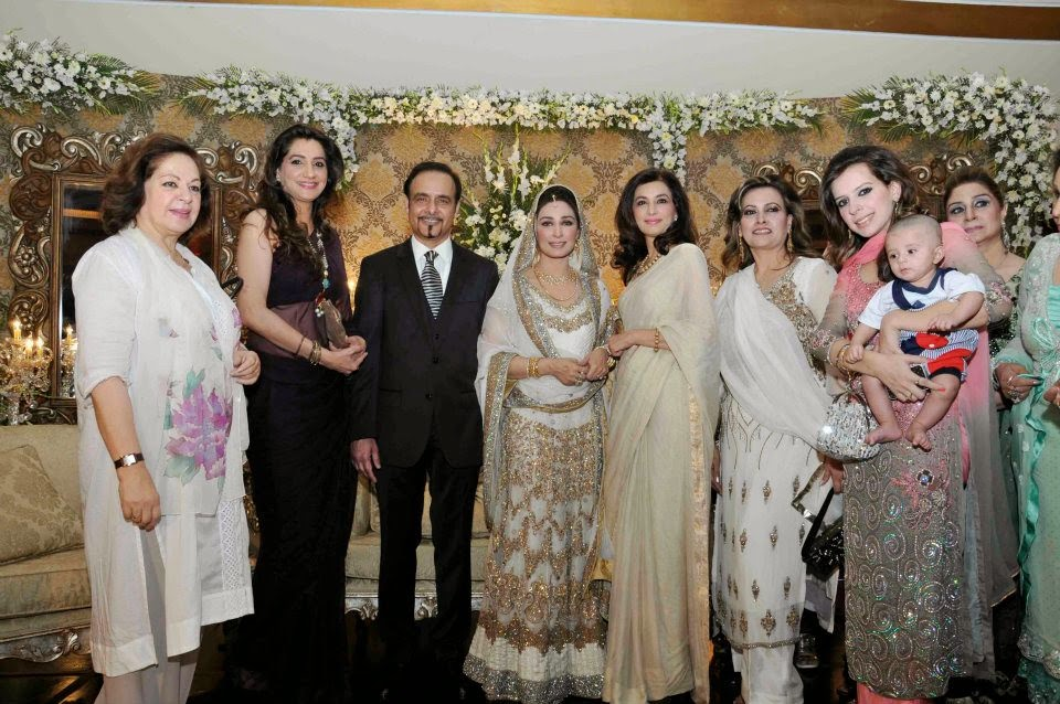 Pakistani Actress Reema Khan Valima Unseen Pictures