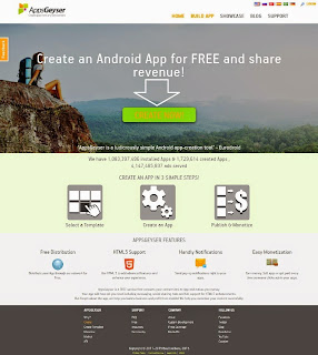 Membuat Aplikasi Android Untuk Web dan Blog Tanpa Coding