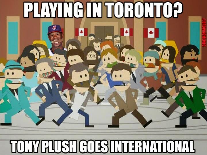 Cleveland Indians Memes Tony Plush