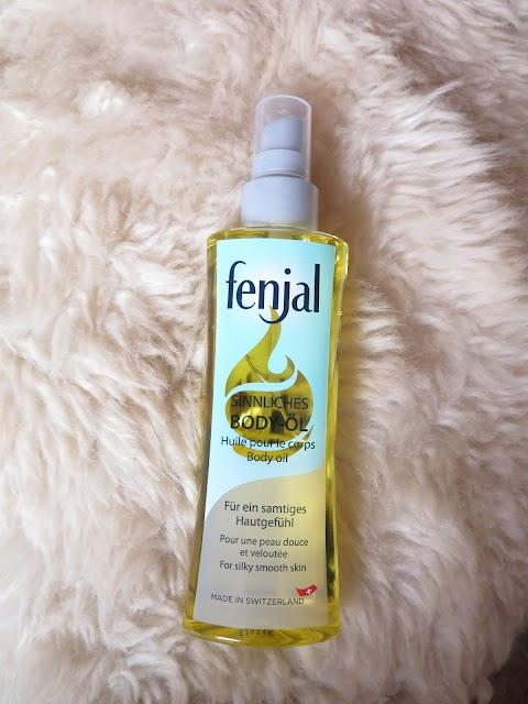 FENJAL Sensual Body Oil Kūno aliejus