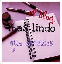 Quinto Premio 'Blog más Lindo que Conozco'