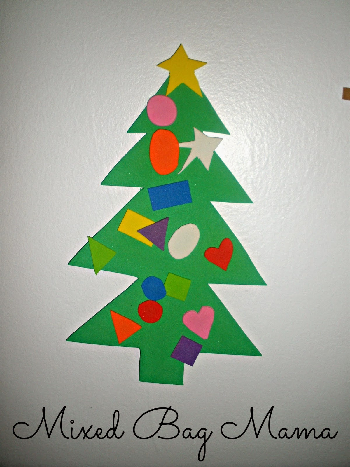 Mixed bag mama simple christmas crafts w young kids for Christmas crafts for young children
