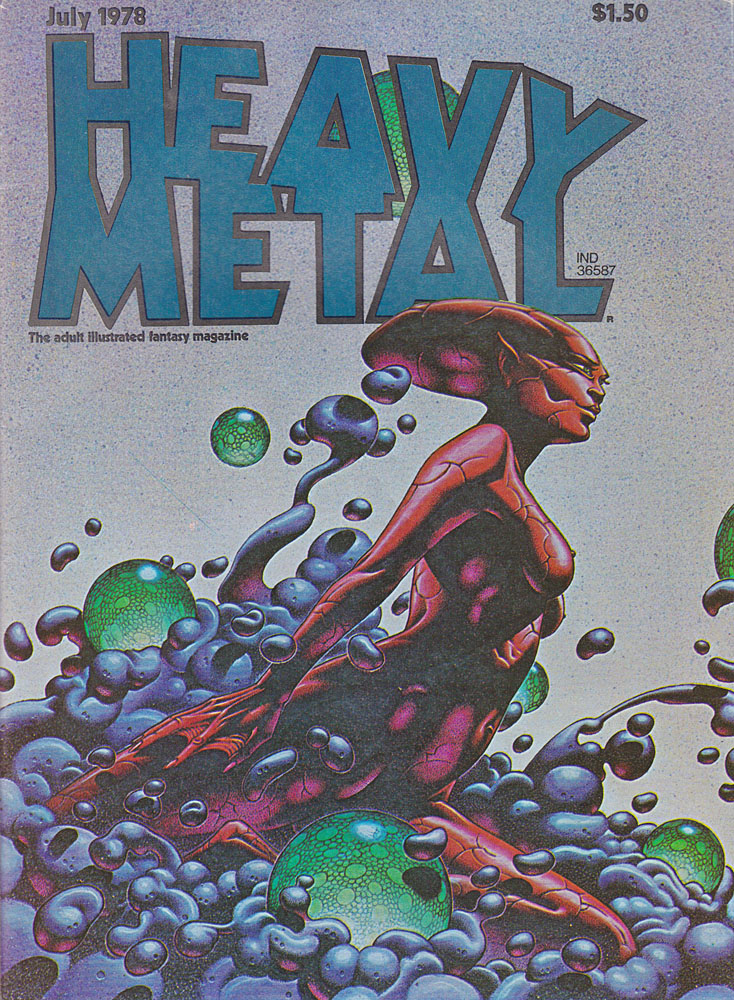 Vintage Heavy Metal Magazine July 1978 Back Issue