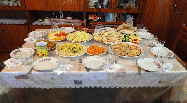 Family Dinner, Western Ukraine