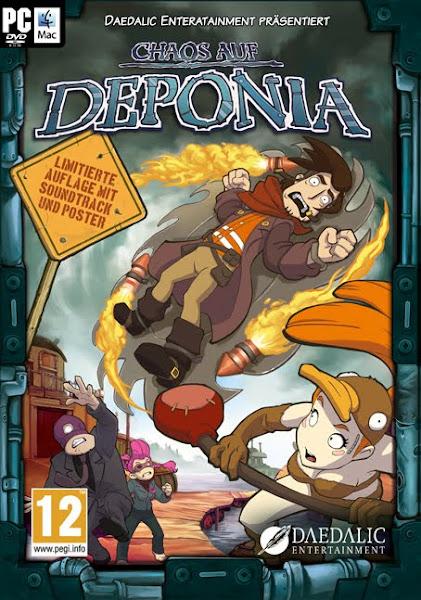 Chaos on Deponia (2012) PC Repack KaOs 1.36GB
