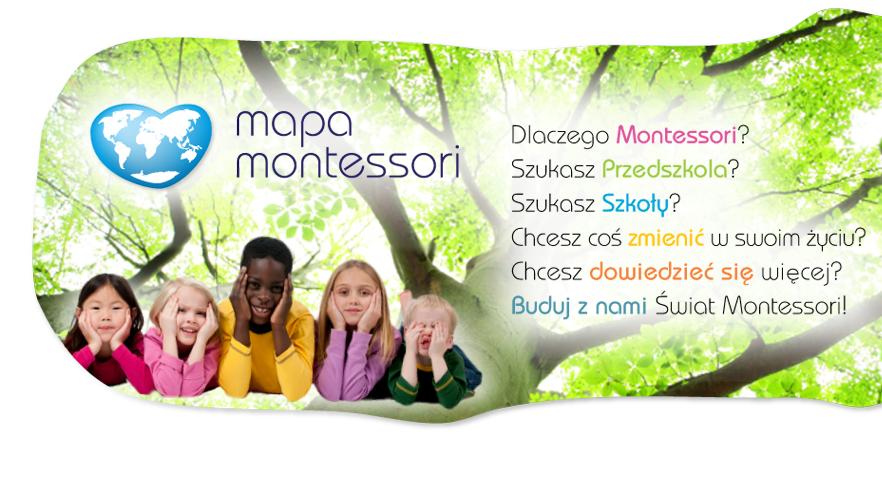 Mapa placówek Montessori
