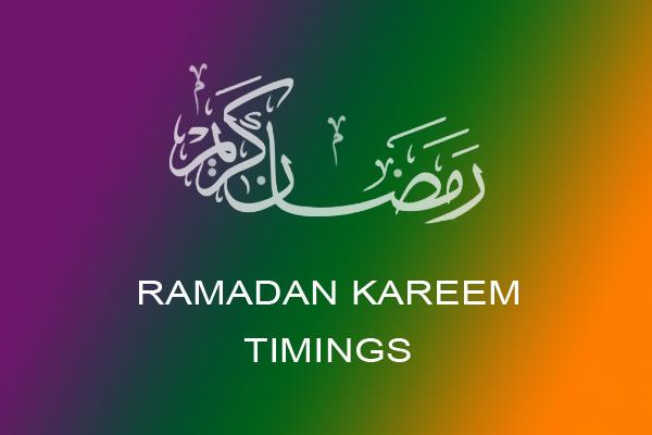 Ramadan 2013 Time Lahore