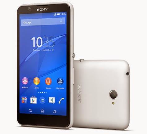 Gambar dan Harga Sony Xperia E4 Dual