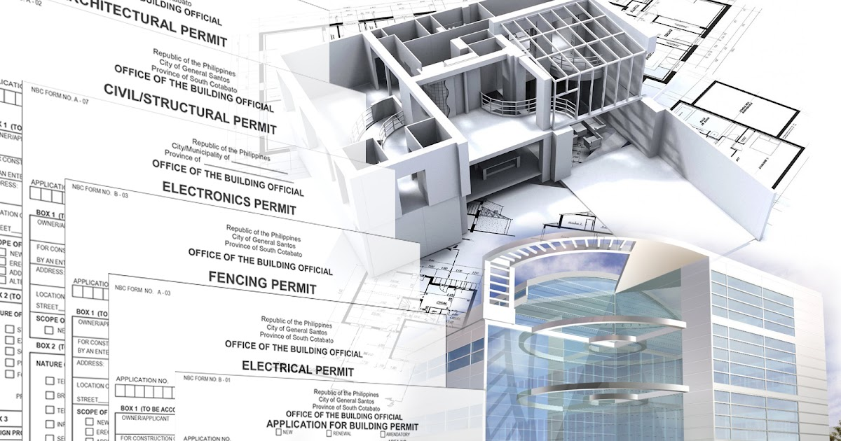 Procedures for securing a building permit general for Procedure to build a house
