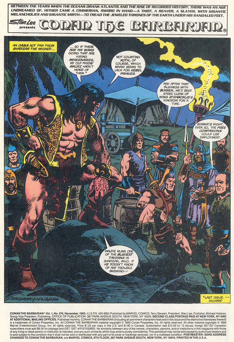 Conan the Barbarian (1970) Issue #274 #286 - English 2