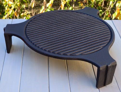 kamado heat diffuser cast iron