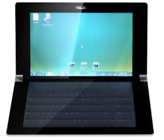 laptop keyboard, touch screen