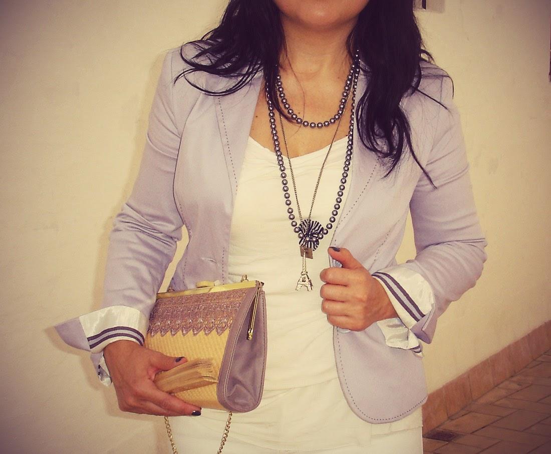 Raffia+handbag