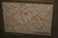 Mapa de Barcino y Barcelona
