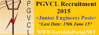 PGVCL Recruitment 2015