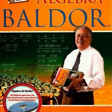 Algebra de Baldor nueva imagen 2015 | Matematicas