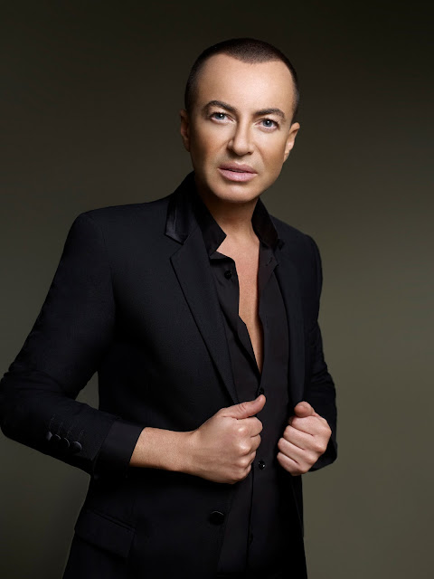 British fashion designer Julien Macdonald