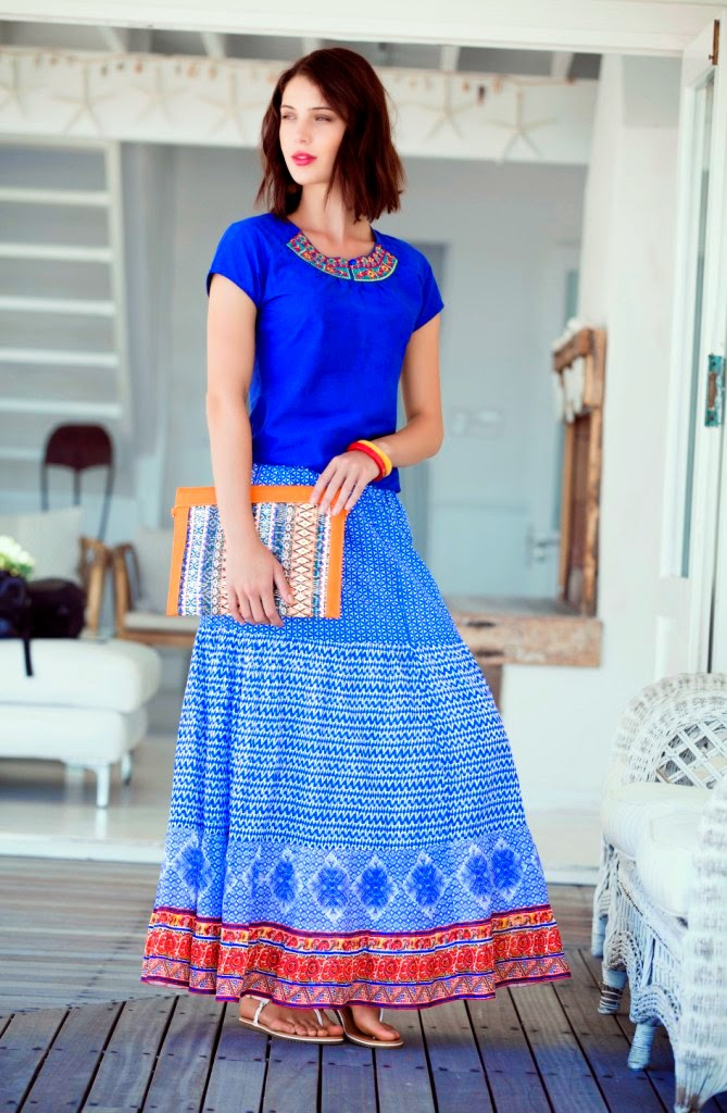 indian long skirt outfit ideas