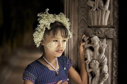 แป้งทานาคา (Thanaka)