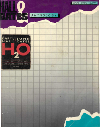 Everything Hall & Oates: Hall & Oates sheet music