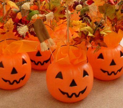 Halloween parties centerpieces for Centros de mesa para halloween