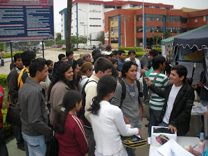 University Students at Ministry Event