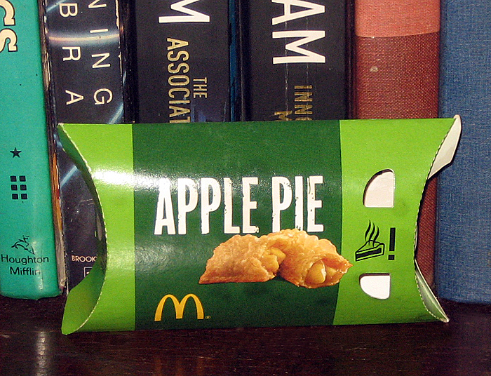 Percys Fast Food Toy Stories Apple Pie 2013