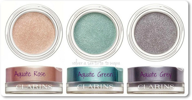 CLARINS - Aquatic Treasures - Sombras Ombre Iridescente