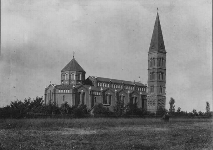 holmens kirke før ombygningen