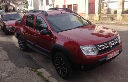 Modelul Duster Pick up al celor de la Dacia