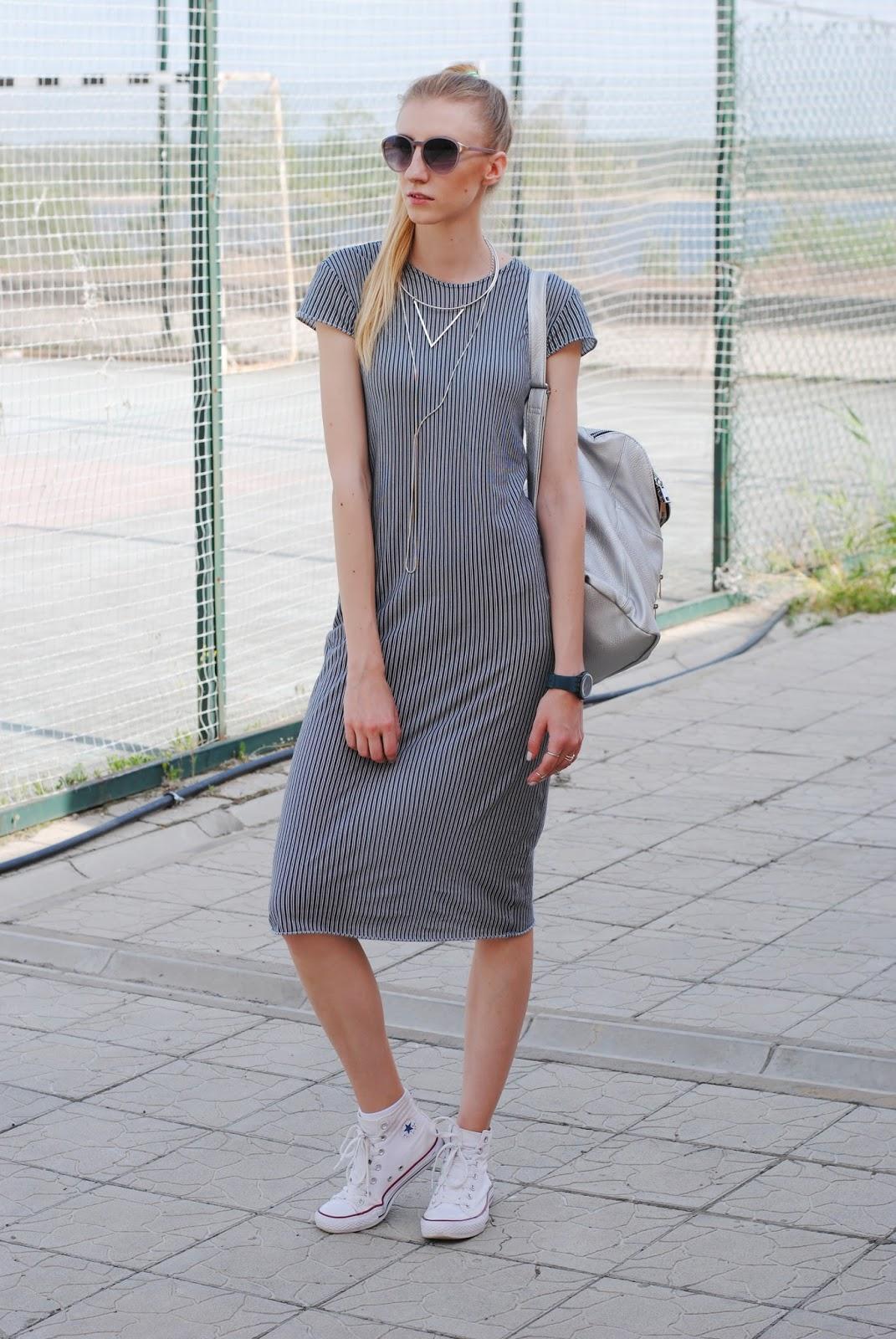 платья с кроссовками 2015