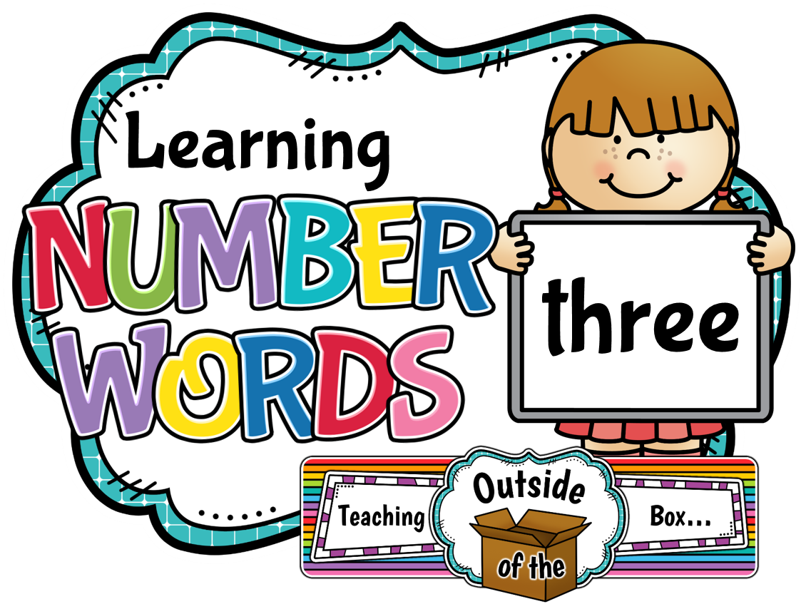teaching outside of the box learning number words rh teaching outsideofthebox blogspot com number clipart for teachers