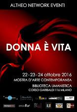 """irma Mores a """"Donna è Vita"""". Milano 2016"""