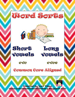 sorting words for long and short vowels
