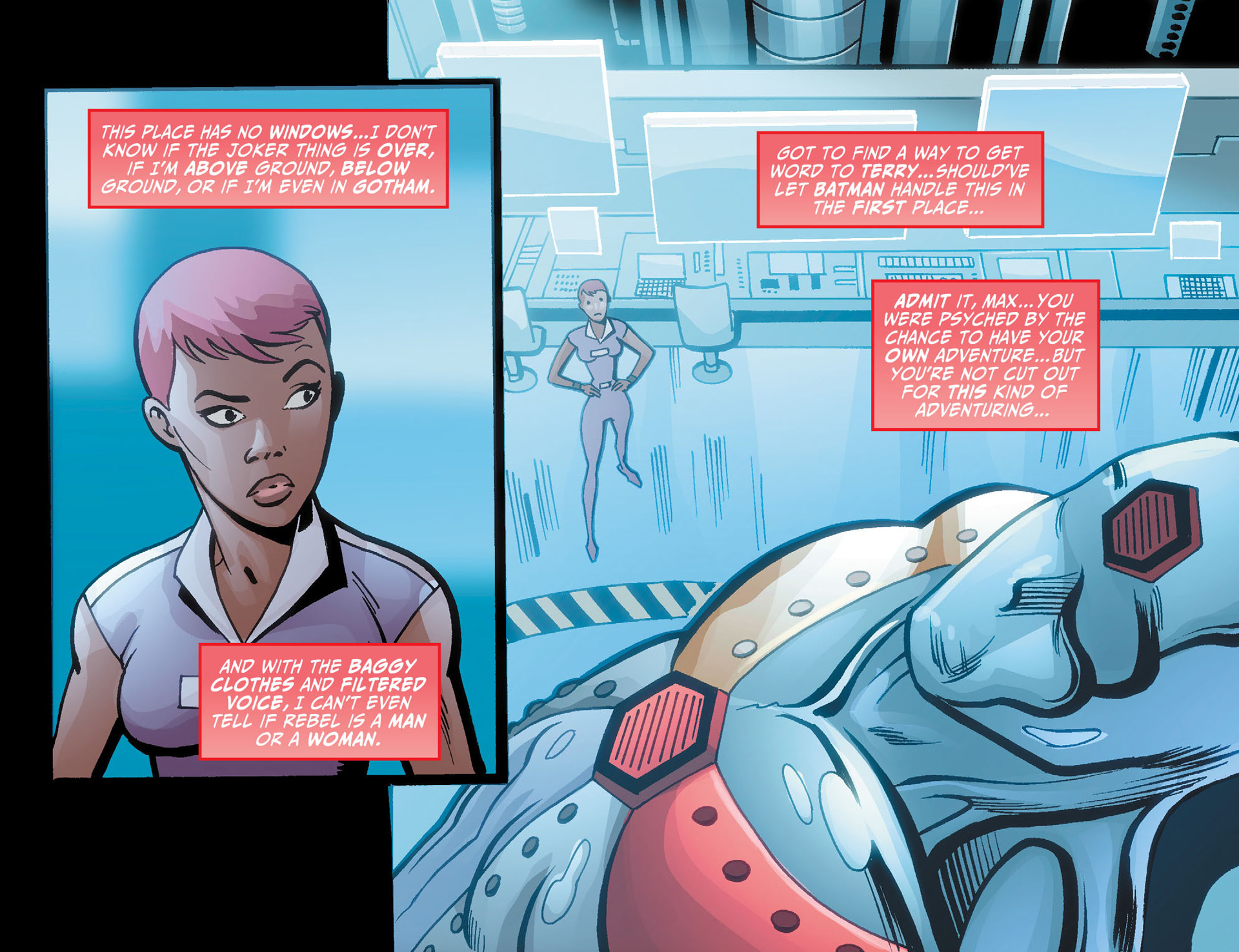 Batman Beyond (2012) Issue #21 #21 - English 7