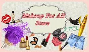 Nova Parceria com a Loja Makeup for all Store