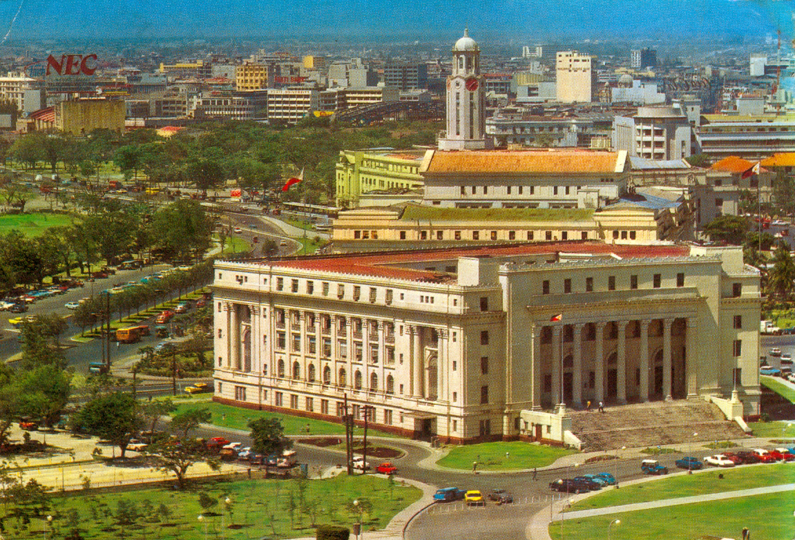 Manila City Hall Aerial View