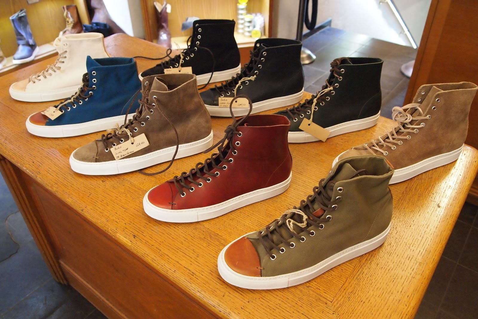 European Leather Shoes