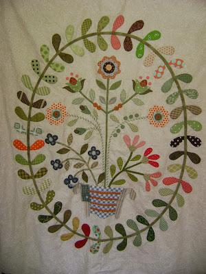 Aunty Green's Garden quilt