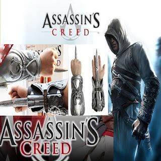 Assassin's Creed Cosplay Brotherhood Ezio Hidden Blade Auditore Gauntlet Replica