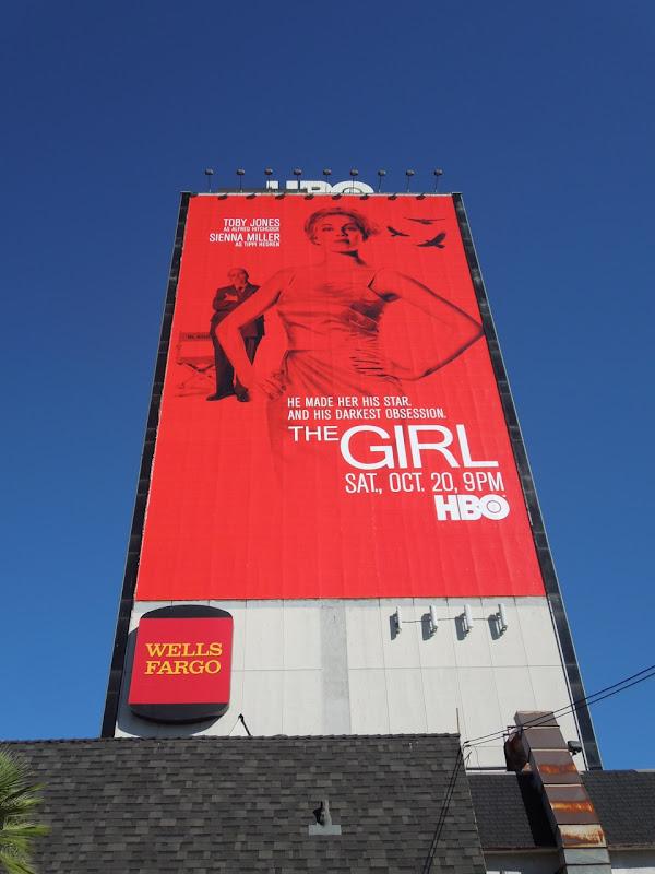 Girl HBO movie billboard