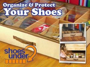 Kelebihan Shoes Under Organizer Tempat Penyimpanan Sepatu Unik Dan Murah