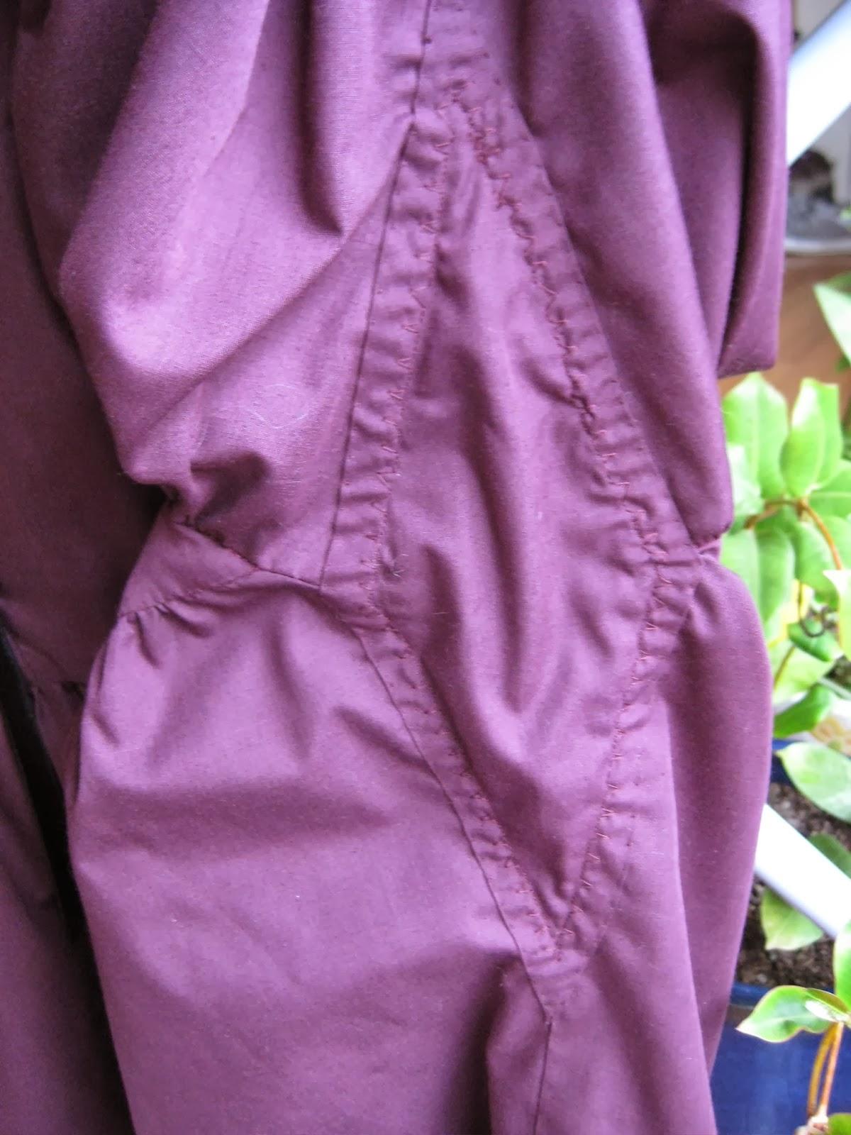 Simplicity 4059 Shirt A Tyndall Underarm Gore