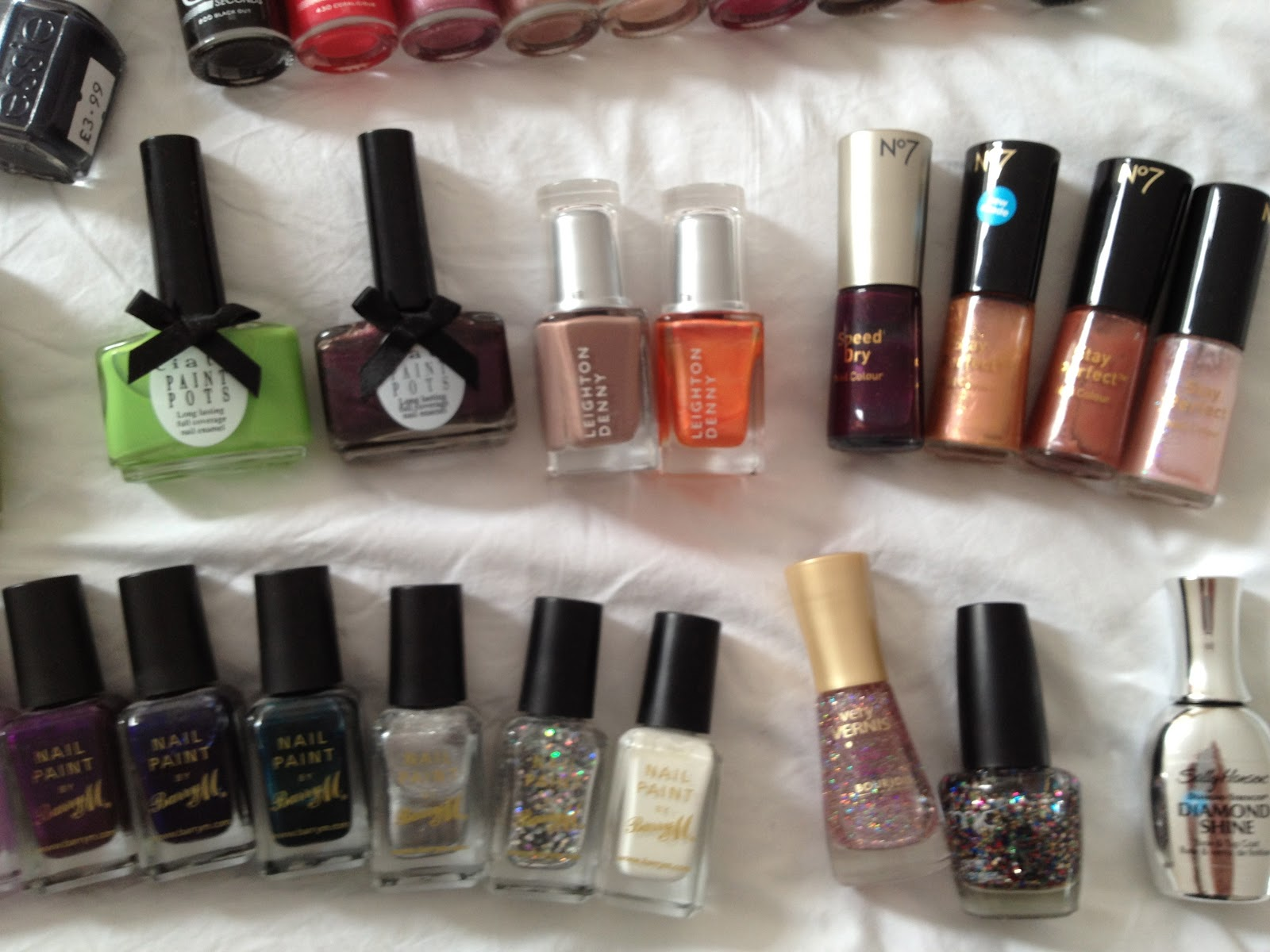 FLABBY FACE OF MAKEUP: Nail polish collection