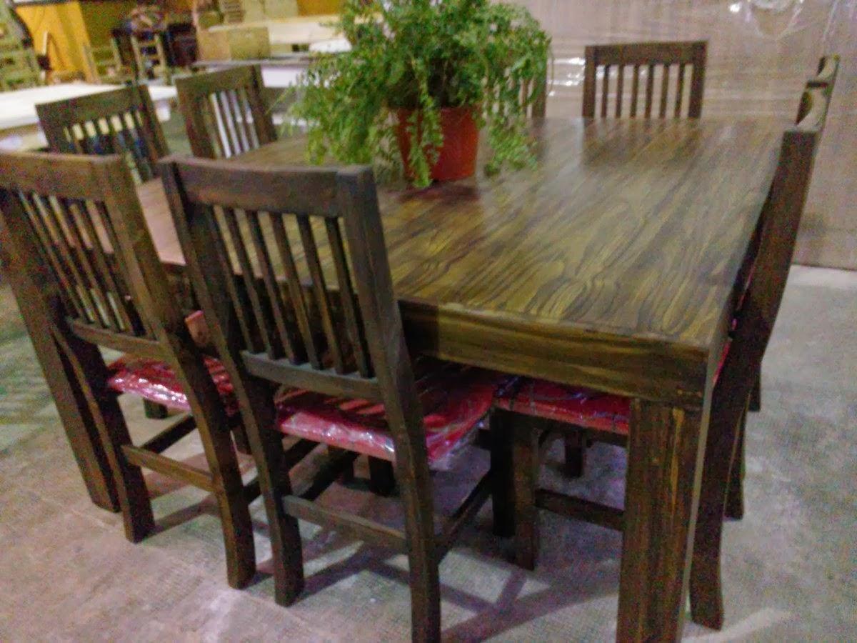 Fabrica de mesas y sillas en zona norte for Mesas de comedor cuadradas modernas