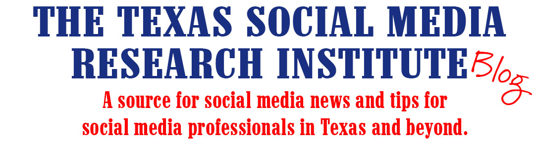 The Texas Social Media Research Institute (@TSMRI)
