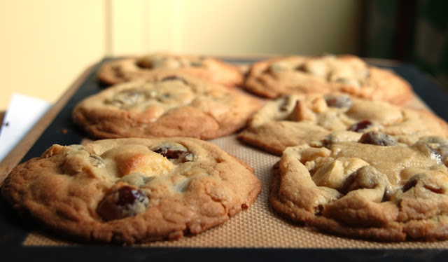 chewy white chocolate cookies