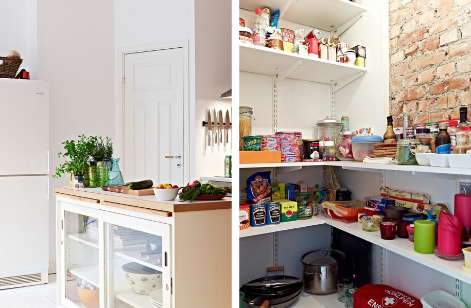 62m ben sfruttati la tazzina blu - Cucina in poco spazio ...